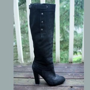 BELLE By SIGERSON MORRISON SUEDE KNEE-HIGH BOOTS